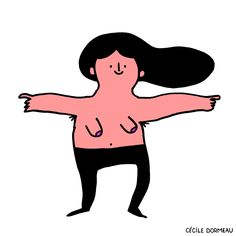 Illustrator Shows The Hidden Side Of Women That Society Doesn't Want To See