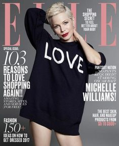Michelle Williams - Elle Magazine Cover [United States] (January 2017)