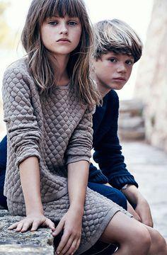 Massimo Dutti's Kids' Fashion for 2015 Autumn- Petit & Small