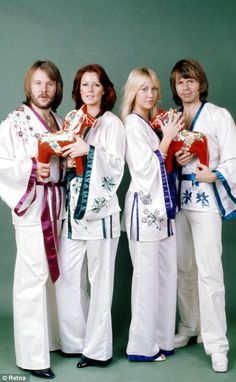 ABBA ... loved this band, sang along to many of their tune from the radio.
