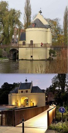 Smedenpoort footbrodge, Bruges by Ney & Partners. Click image for full story and visit the slowottawa.ca boards >> http://www.pinterest.com/slowottawa/