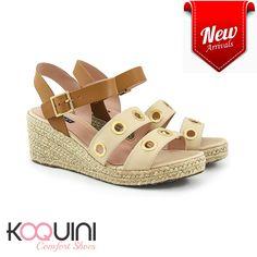 Que tal #anabela pro seu fim de semana? #koquini #comfortshoes #euquero Compre Online: http://koqu.in/2cZYePO