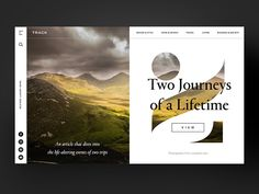 Two Journeys of a Lifetime