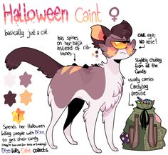 Halloween Caint Reference sheet by Iyd on DeviantArt