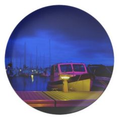 Harbour Night Party Plates