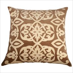 Rizzy Home T-2478B Tan Decorative Pillow - Set of 2