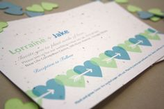 #DIY #Free #printable wedding invitation template from Botanical PaperWorks. Create your own plantable invitations for your wedding!