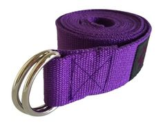 Clever Yoga 8-Foot Yoga Strap Made With The Best, Durable Cotton - Comes With…
