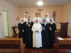 This summer the Norbertine Sisters in Wilmington, CA, welcomed 2 new Postulants.