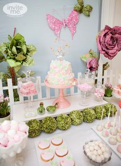 Fairy Garden party by inviteme.com.au