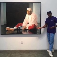 pinterest // @reflxctor TYLER, THE CREATOR and his painting in GOLF LE FLEUR / GOLF WANG #tylerthecreator #golfwang #golflefleur