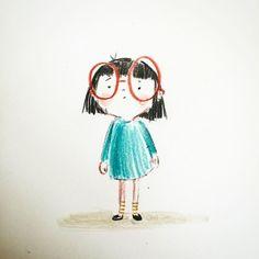 Doodle Drawings, Cartoon Drawings, Doodle Art, Easy Drawings, Children's Book Illustration, Character Illustration, Illustrations, Photographie Portrait Inspiration, Karten Diy