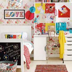 Boho chic children's bedroom