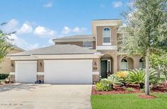 LIVE THE FLORIDA LIFESTYLE ... in this Golf Course and Resort style Amenities Community! Home offers 3,096 sq ft and built in 2011. 1st floor has large family room, large kitchen and eating area, dining room, full bathroom and 1 bedroom (or Office). Upstairs has Owner's suite, 3 other bedrooms, full guest bath and large laundry room with cabinets and sink. Enjoy the serenity of the pond from the screened lanai or the paver patio. 3 car garage. Freshly painted exterior and most of the…
