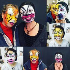 Clase de Maquillaje infantil pinta caritas para niños muy divertidos! @solecester #pintacaritas #maquillaje #niños #gracia