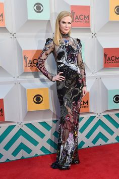Nicole Kidman in Alexander McQueen | Academy of Country Music Awards 2016