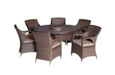 Premier 7 Piece Round Dining Setting