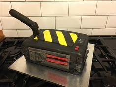 Ghostbusters trap cake!