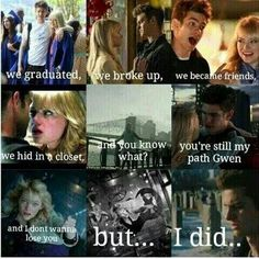 """The Amazing Spider-Man 2    Gwen and Peter's relationship were definitely complicated now I see why Harry said """" yeah I don't do complicated """""""