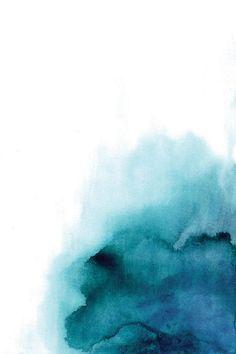 Blue Drop Canvas Art Print by Albina Bratcheva | iCanvas