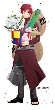 我愛羅 誕生日等身大パネル [2]