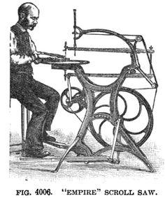 Empire scroll saw. 1897.
