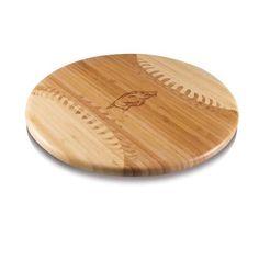Arkansas Razorback Baseball Wine & Cheese Cutting Board