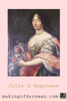Julie d'Angennes, aussi appelée de son temps l'Incomparable Julie, la Princesse Julée ou encore Philonide, le nom que Madame de Scudéry lui attribue dans le Grand Cyrus, naît en 1607 et meurt en 1671. Rue Saint Honoré, Julie, Portrait, Roman, Painting, Ebay, Art, Architecture, Maria Theresa