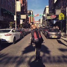 #BarbaraDUrso Barbara D'Urso: Buongiorno da Little Italy ❤️❤️❤️#NY #nostalgia #sorriso #italy #picoftheday #vacanze #instacool #instagood #divertimento #bigapple #metropoli #USA #smile