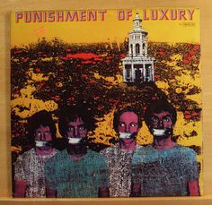 PUNISHMENT OF LUXURY Laughing Academy Vinyl LP Puppet Life Obsession Funk me RAR