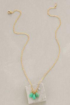 Ternary Drop Necklace