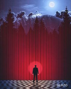 One More Step... (Poster Design) Happy Twin Peaks Sunday, Everyone…