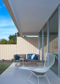 Bertoia Asymmetric Chaise | Copper House | Design Milk