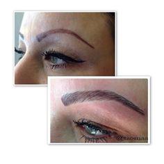Effort to fix previous bad eyebrowtattoo