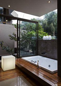 1001 ideas for the layout of a natural bathroom model Bathroom Design Luxury, Modern Bathroom, Small Bathroom, Zen Bathroom, Natural Bathroom, Bathroom Trends, Bathroom Ideas, Luxurious Bedrooms, Home Fashion