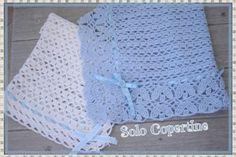 Copertine uncinetto e ferri con schemi e spiegazioni Crochet Hats, Blanket, Tutorial, Tejidos, Knitting Hats, Blankets, Cover, Comforters