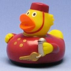 Rubber Duck Hotel Boy - Produktbild