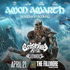 Amon Amarth at the Fillmore Silver Spring
