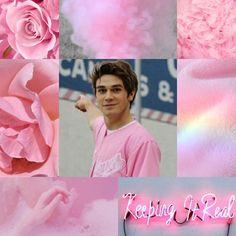 KJ Apa- pink