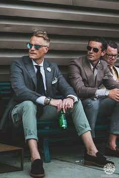 Spotted: the men of Pitti Uomo.