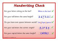 OT- Handwriting on Pinterest | Handwriting Without Tears, Handwriting ...