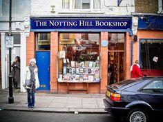 The Notting Hill Bookshop.  http://www.flickriver.com/photos/beuzemichael/6919973573/