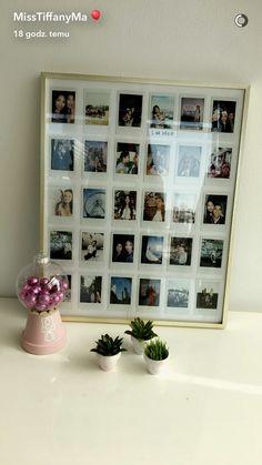 70 new Ideas apartment ideas college diy wall art Polaroid Display, Polaroid Wall, Polaroids, Mini Polaroid, Polaroid Pictures Display, Polaroid Ideas, Casa Rock, Decoration Photo, Polaroid Decoration