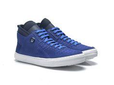 TENIS SLIM3743 - NOBUCK BLUE - Hardcorefootwear