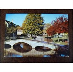 Bridge over River Windrush at Bourton on the water Gloucestershire Dixon colour postcard on eBid United Kingdom