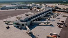 Aerial view of Southwest Florida International Airport is situated on just off the coast of the Gulf of Mexico in Florida, USA. Check out more pics @ http://www.airport-technology.com/projects/swflorida