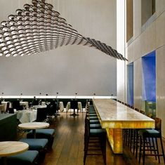 cirrus | lighting system ~ yellow goat design - reminiscent of a school of fish in the sea