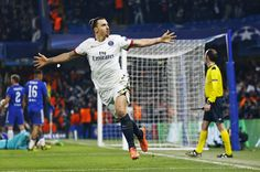 Champions League goal against Chelsea—and it's over for them.They've been Zlataned. :)