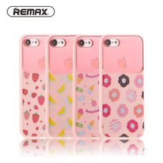Sale 17% (6.99$) - Remax 3D Anaglyph Colored Drawing Soft TPU   PC Shockproof Cover Case for iPhone 7 plus