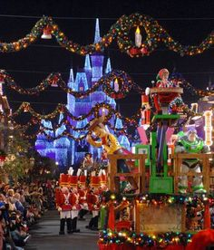The most magical place at the most magical time of year... Disney World!